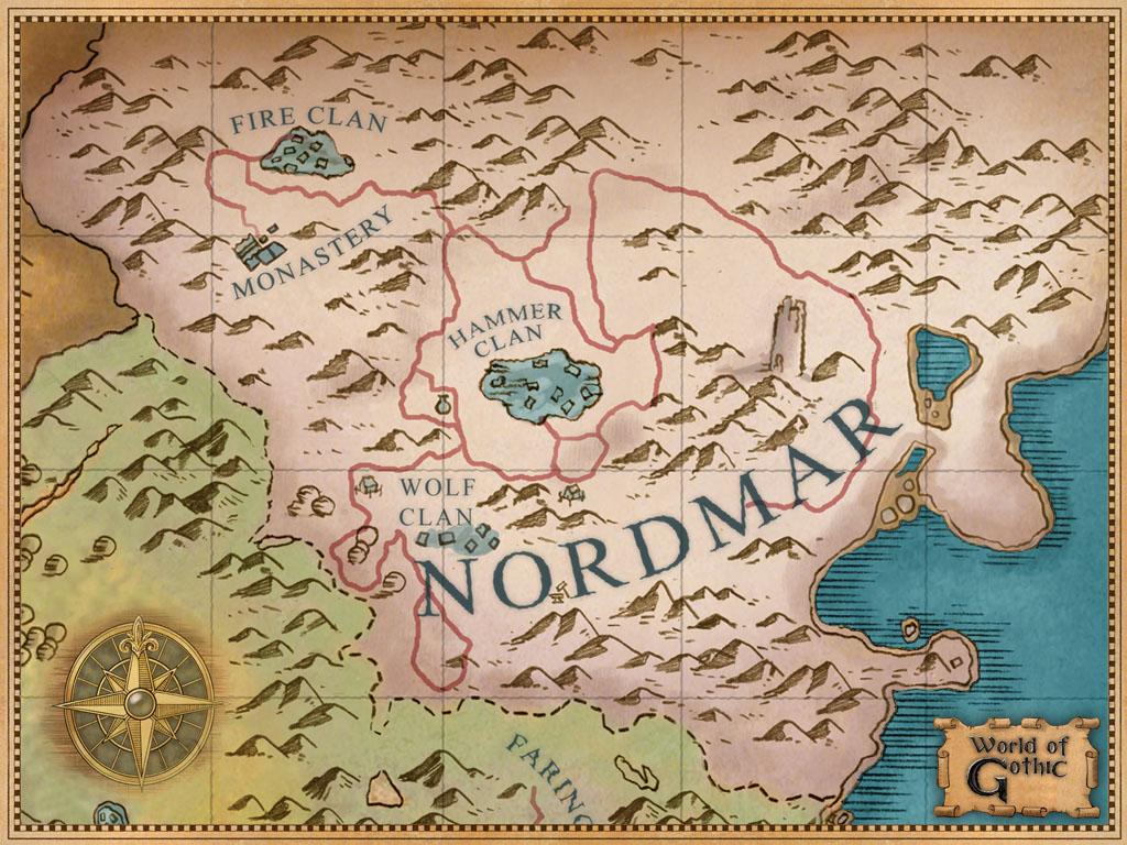 Карта Нордмара Готика 3