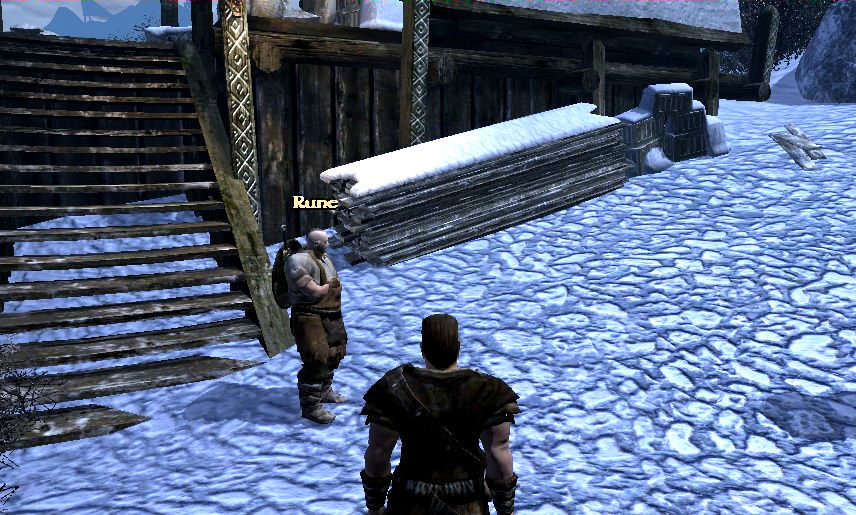 Walkthroughs maps lists and tips for gothic 3 rune has it in his inventory there is no way to get except to knock him down malvernweather Images