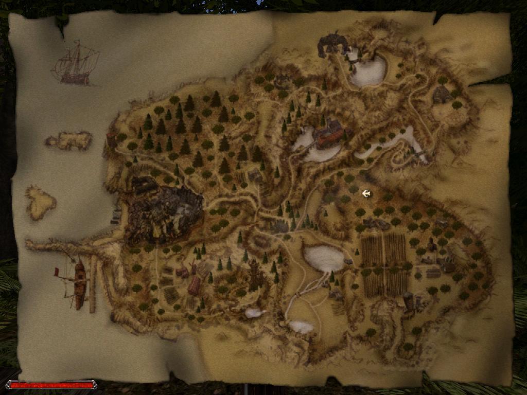 Gothic 2 Карта Хориниса