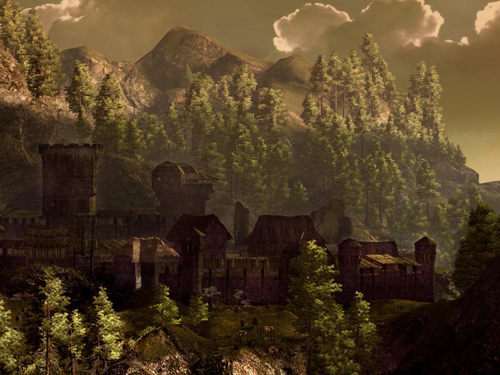 Несколько скринов из Готики 3. Сообщение отредактировал ELEKTOR - 3.02